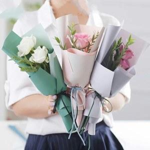 мини букеты из роз