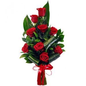 Букет из роз вертикальный