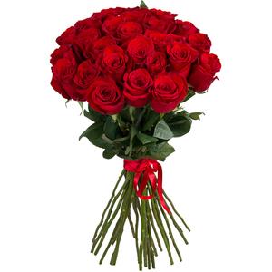 Красная роза 25 шт