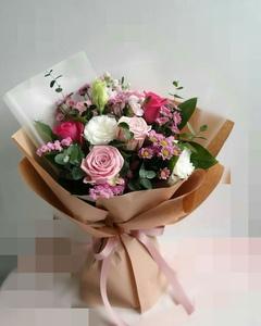 микс(розы,хризантемы,эустомы)
