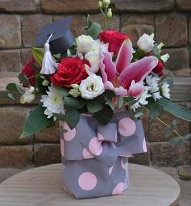 цветочная коробка 25